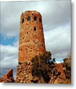 Tower Of Stone Metal Print