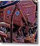 Tractor Parts Metal Print