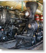 Train - Engine - Steam Locomotives Metal Print