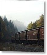 Train 2 Metal Print