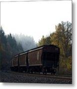 Train 3 Metal Print