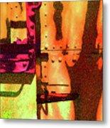 Train Abstract Variation Metal Print