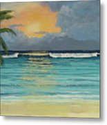 Tranquil Sunset Metal Print