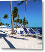 Tranquility Bay Beach Paradise Metal Print