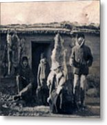 Trappers Metal Print