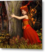 Tree Hug Metal Print