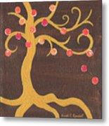 Tree Of Life - Left Metal Print by Kristi L Randall