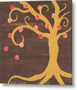 Tree Of Life - Right Metal Print by Kristi L Randall