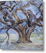 Tree Of Natural Music Metal Print