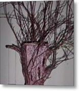 Treepot Metal Print