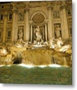 Trevi Fountain. Rome Metal Print