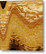 Tribal Abstract Metal Print