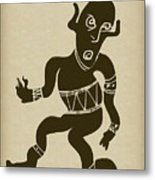 Tribal Dancer Metal Print