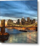 Tribute In Light I Metal Print by Clarence Holmes