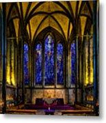 Trinity Chapel Salisbury Cathedral Metal Print