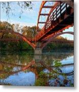 Triple Bridge Metal Print