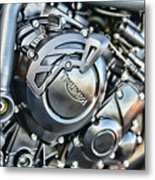 Triumph Tiger 800 Xc Engine Metal Print
