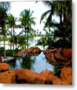 Tropical Atlantis Metal Print