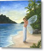 Tropical Fairy Metal Print