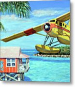 Tropical Getaway Metal Print by Chris Dreher