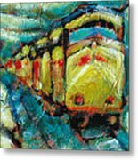 Truckee Train 2 Metal Print