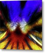 Trying To Fit Into A Size Two Metal Print by Wingsdomain Art and Photography