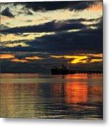 Tsawassen Sunset Metal Print