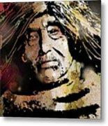 Tsawatenok Man Metal Print