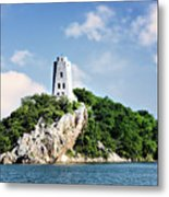 Tucker Tower 2 Metal Print by Lana Trussell