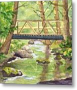 Tuckers Brook Metal Print