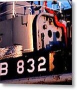 Tug Boat Metal Print by Thomas R Fletcher