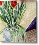 Tulip Bouquet - 11 Metal Print