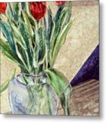 Tulip Bouquet - 11 Metal Print