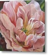 Tulip In Pink Metal Print
