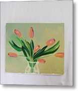 Tulips Dancing Metal Print