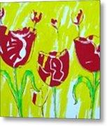 Tulpen 67 Metal Print