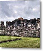Tulum Ruins Metal Print