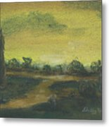 Tuscan Dusk 2 Metal Print by Shelby Kube