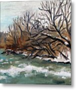 Twelve Mile Creek Metal Print