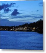 Twilight Row Metal Print by Andrew Dinh
