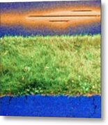 Two Driveways 2 Sat 2 Pd 2 Metal Print