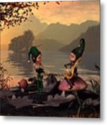 Two Elves Metal Print