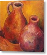 Two Jars Metal Print