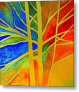 Two Lives Intertwined  Metal Print by Julie Lueders