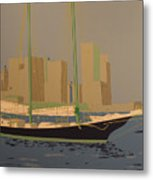 Two Masts Metal Print
