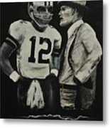 Two Of The Greastest Minds In Pro-football Metal Print by Robert Ballance