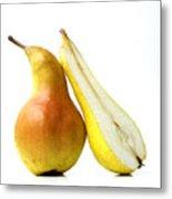 Two Pears Metal Print