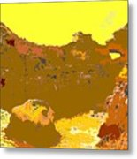 Under A Portugese Sun Metal Print