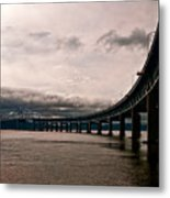 Under The Tappan Zee Metal Print