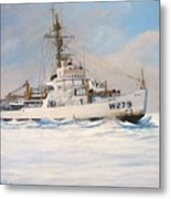 United States Coast Guard Icebreaker Eastwind Metal Print